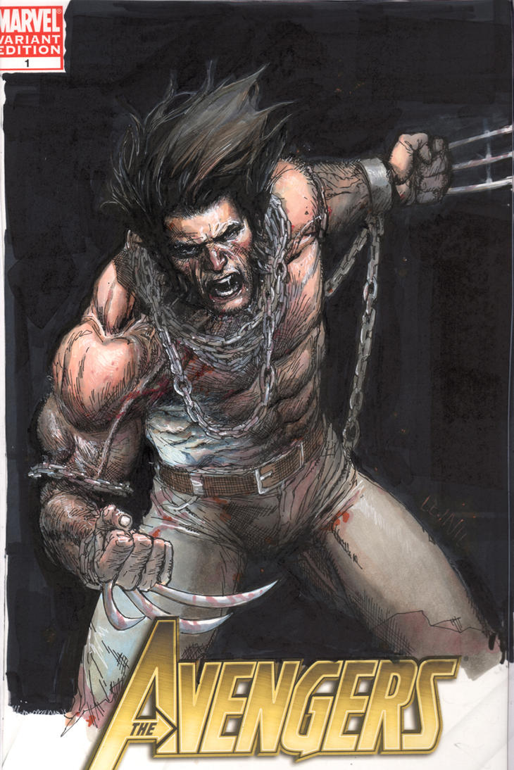wolvie cover commish by leinilyu