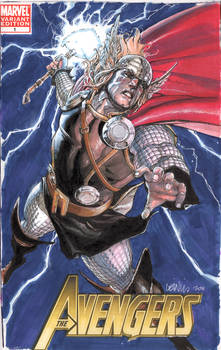 Thor cover commish