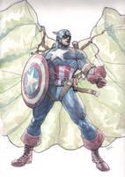 captain america 1 by leinilyu