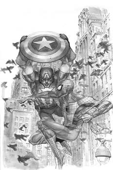 Avenging Spider-man 5 cover