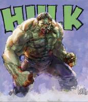 hulk digital practice by leinilyu