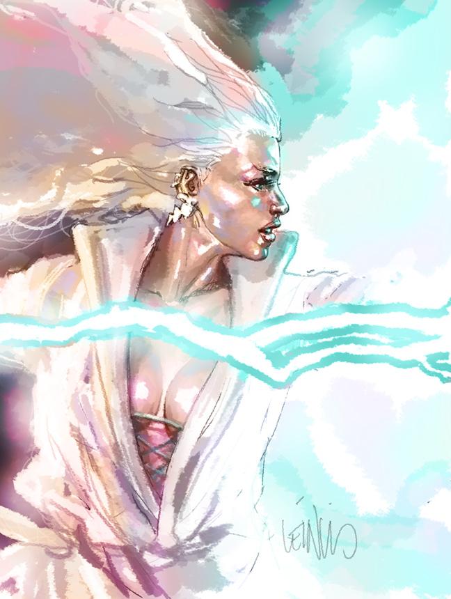 storm practice by leinilyu