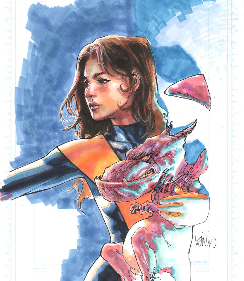 KittyPryde Markers by leinilyu