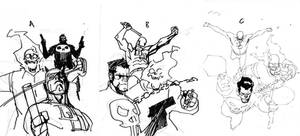 comicbox proposal sketches