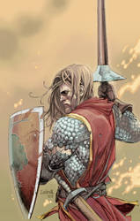SWORN SWORD COVER by leinilyu