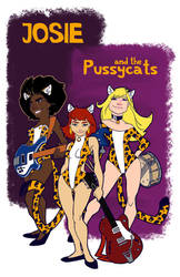 Josie and the Pussycats by plastikpulse