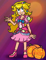 Smashoween: Peach by ComicaDreams