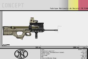 FN Herstal P100 by Gasteiz