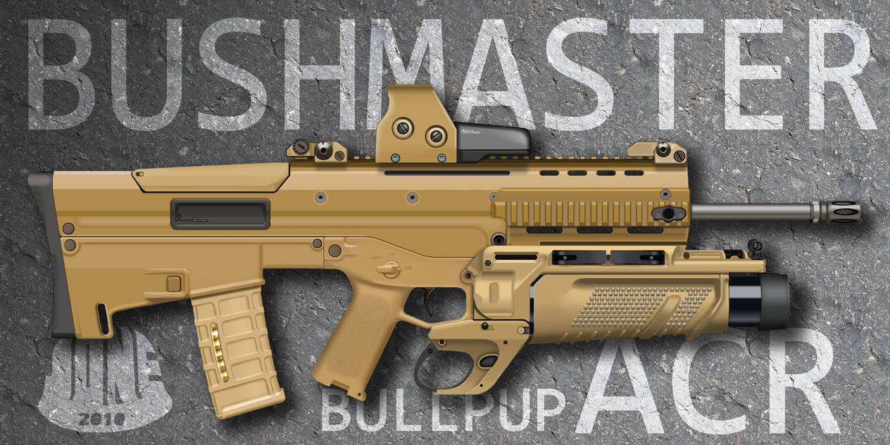 Bushmaster Bullpup ACR by Gasteiz