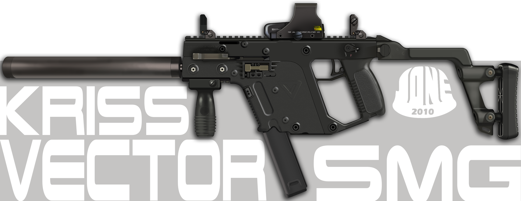 Kriss Vector SMG Realistic