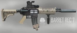 Barret M468 REC7 Assault Rifle