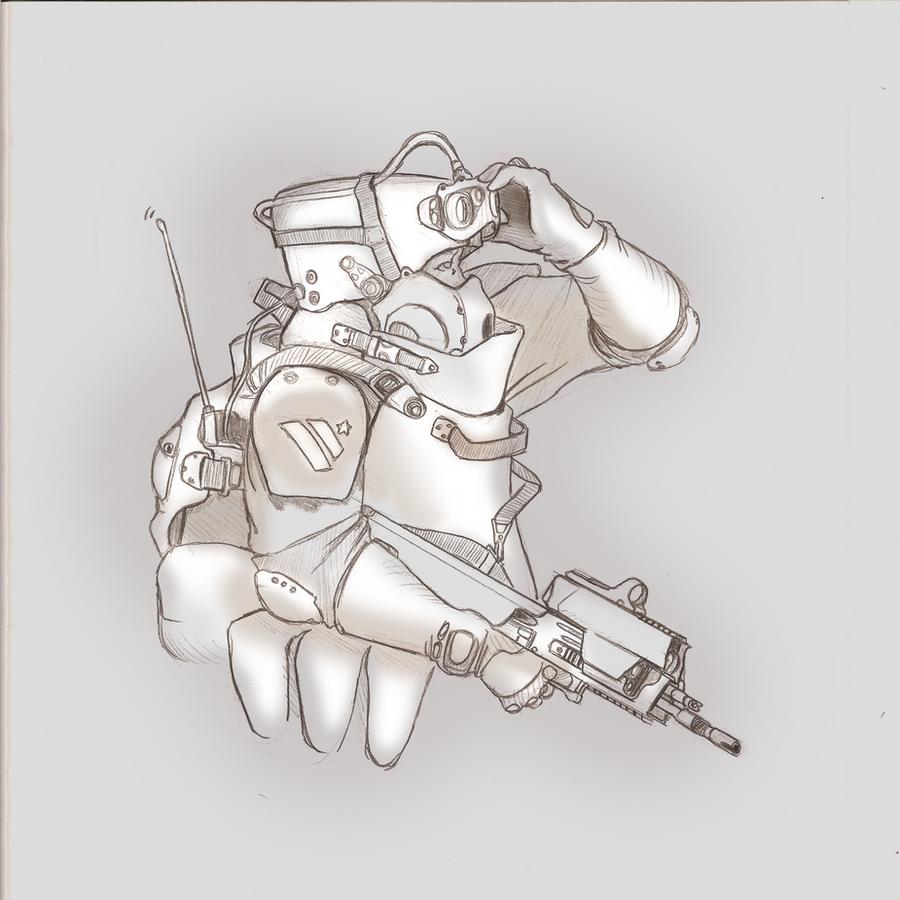 Soldier 1 by Gasteiz