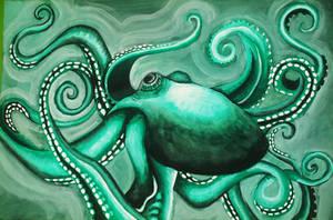 Octopus by rabidunicorn