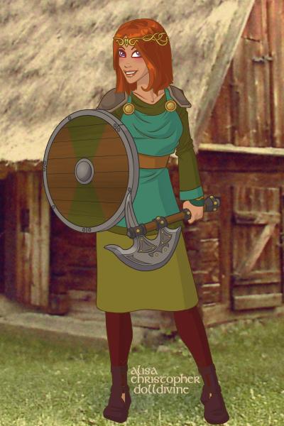 Viking Suki by hellogoodbye2222