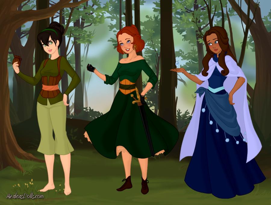 Fairytale-Scene-Maker-Azaleas-Dolls atla by hellogoodbye2222