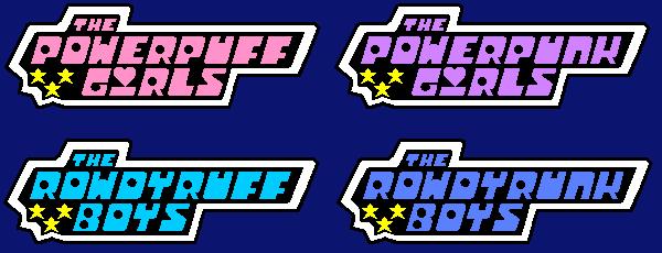 powerpuff girls logo designsszemi on deviantart