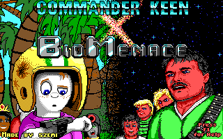 Commander Keen X Bio Menace by szemi