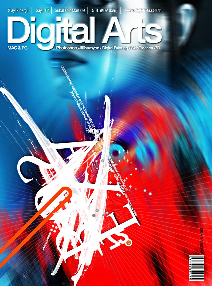 Digital Arts Alternatif Kapak