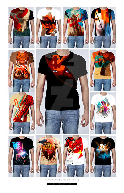 Typo T-Shirts 4 by palax