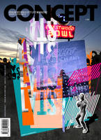 URBAN MAGAZINE COVER by palax
