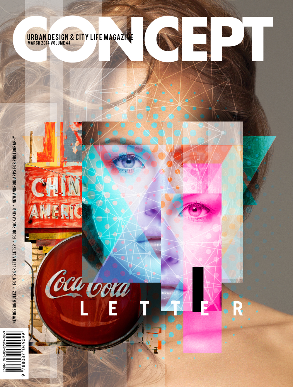 URBAN MAGAZINE COVER II by palax