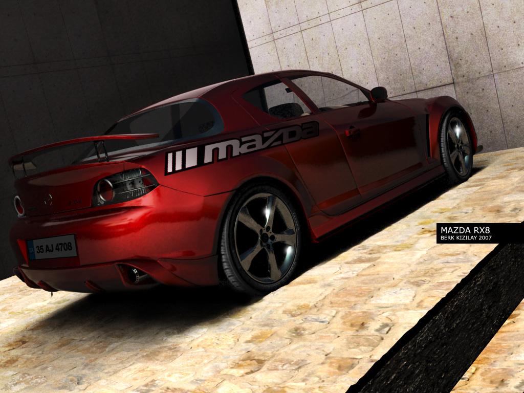 MAZDA RX8 STREET by palax