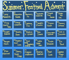 Nymfi Summer Festival Advent (CLOSED) by Faeyrie
