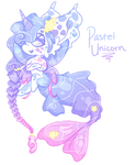 Pastel Unicorn Gempool MerMAYd (OPEN)