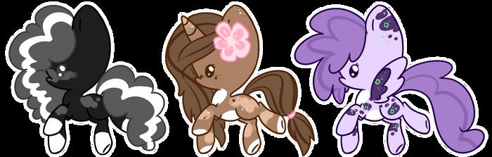 $3 Ponies (3/3 OPEN)