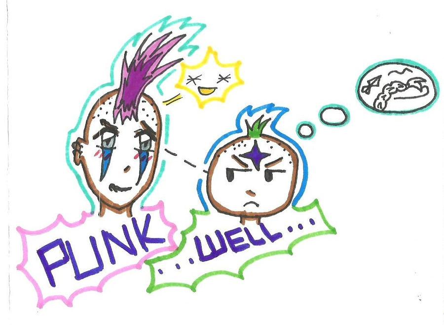 PUNK...Well by SoullessRiku