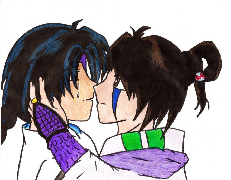 Ban-chan x Jako Kiss by SoullessRiku