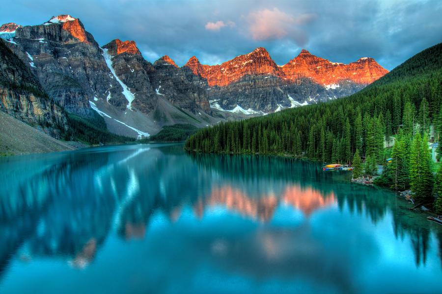 Moraine Lake Sunrise by James-Wheeler