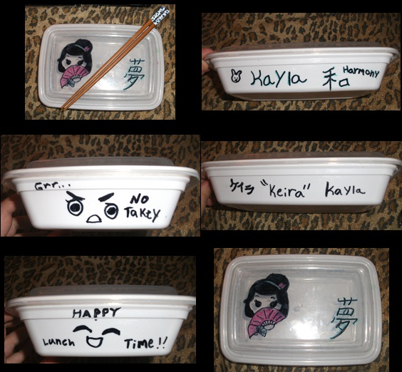 My bento box by KaylaChan92