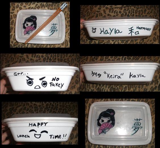 My bento box by KaylaChan92
