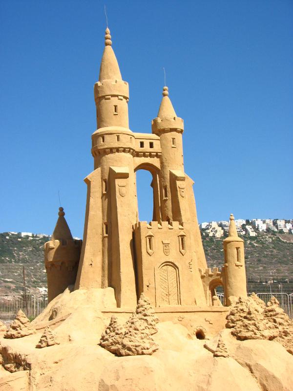 sand castle 2 by MissKayaStock