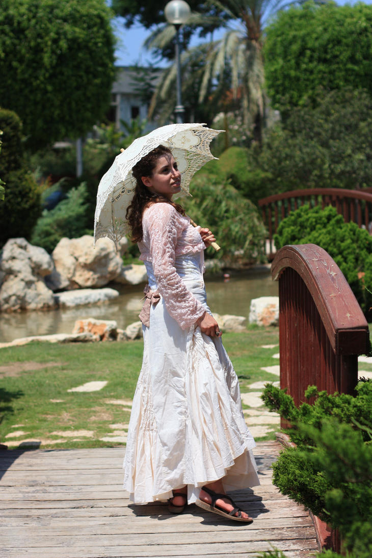 victorian girl 2 by MissKayaStock