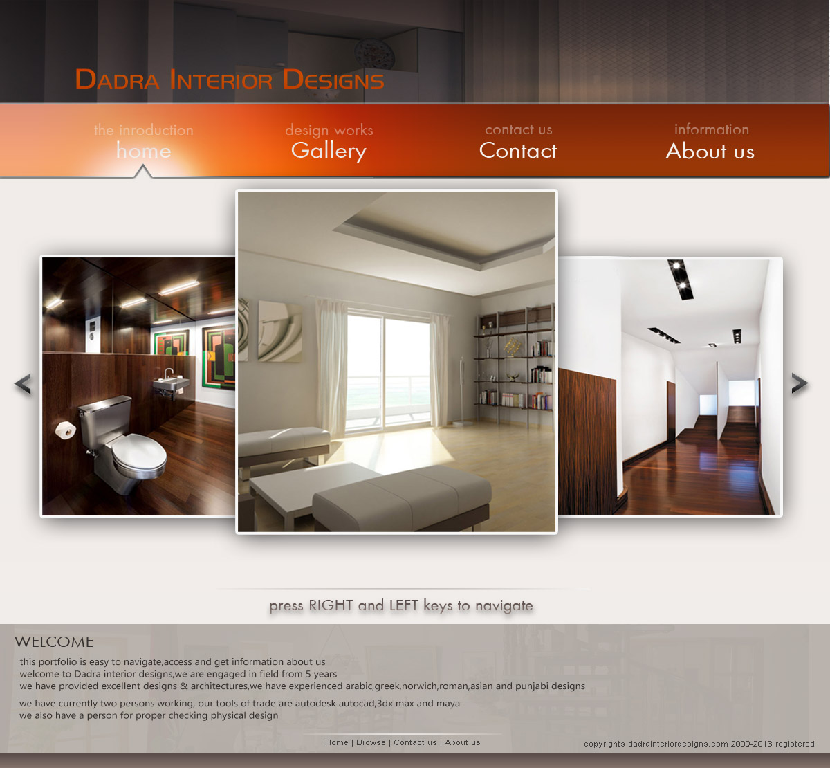 Architect Web Design By Tinkudadra On Deviantart
