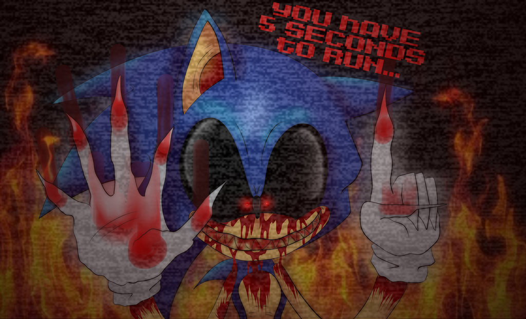 You Have 5 Seconds To Run by BechaXFluo