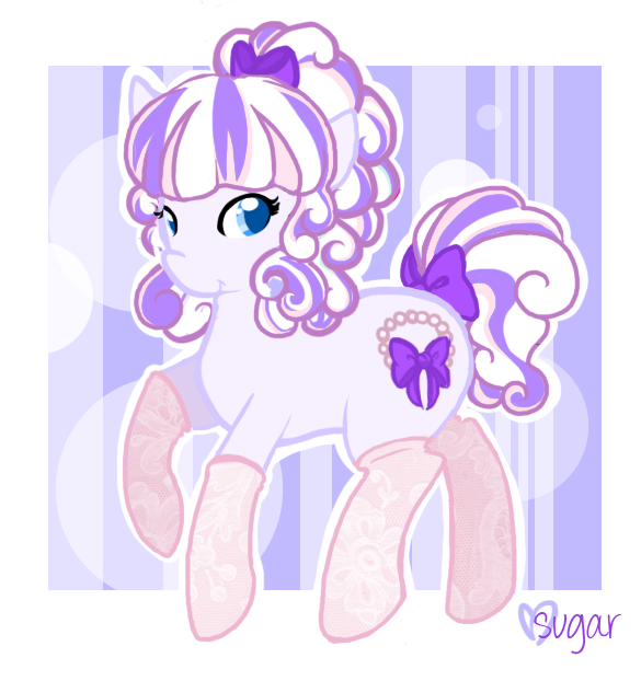 FIM OC: Ribbons and Pearls by Sugarstarstudio