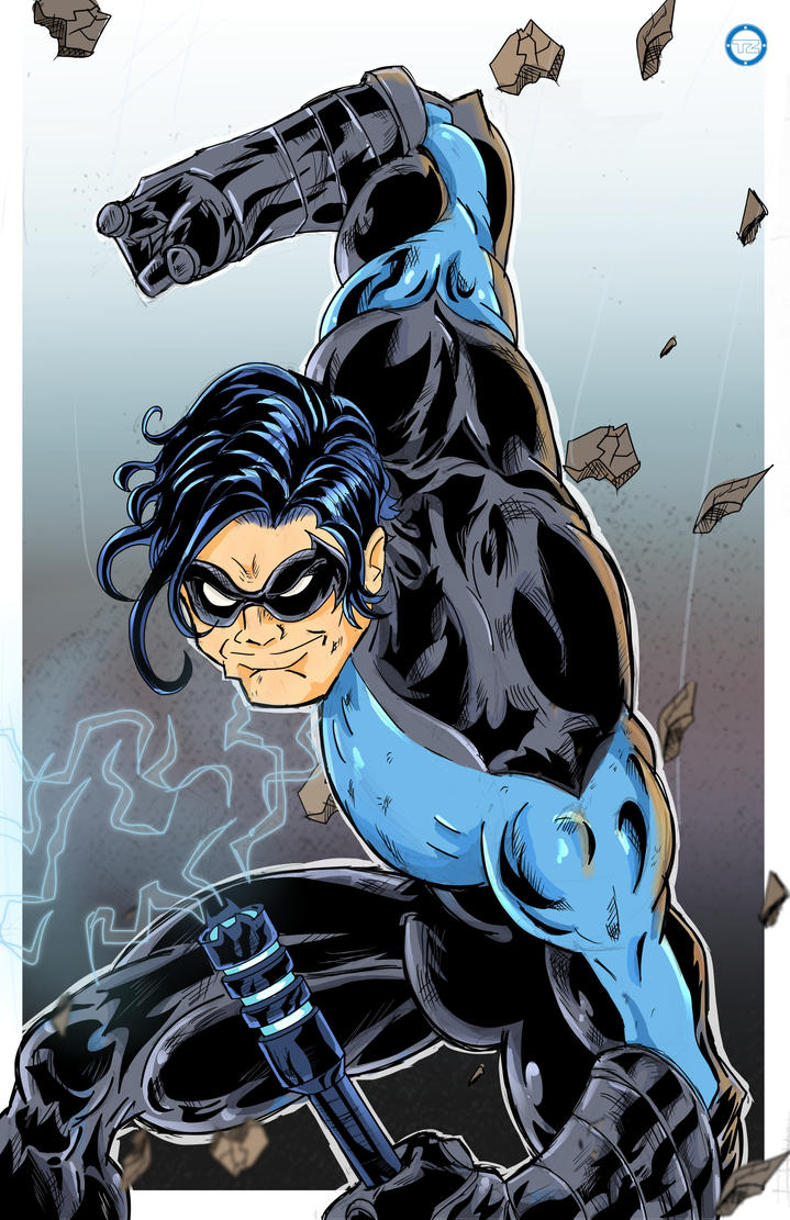 NightWing drop by Zaatis