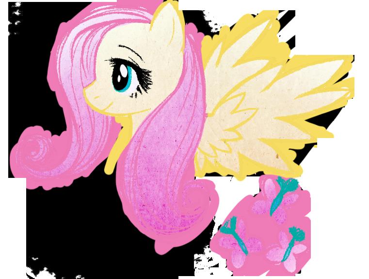 Fluttershy Doodle by RizCifra on deviantART