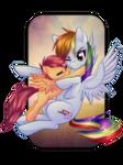 'Rainbow Dash...' by RizCifra