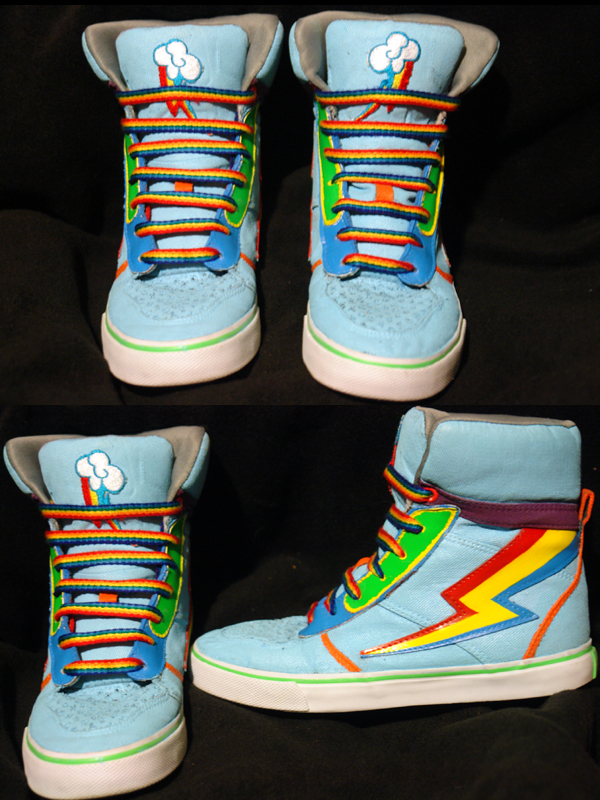 My little pony rainbow dash shoes | Shipped Free at Zappos
