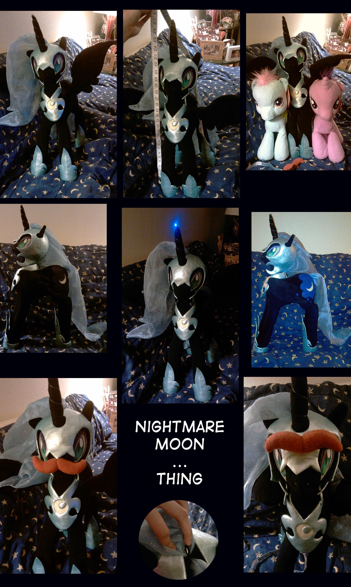 Fleece Nightmare Moon by RizCifra