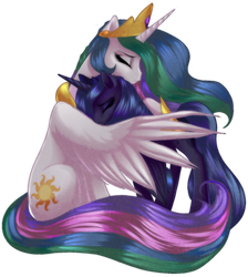 Celestia and Luna by RizCifra