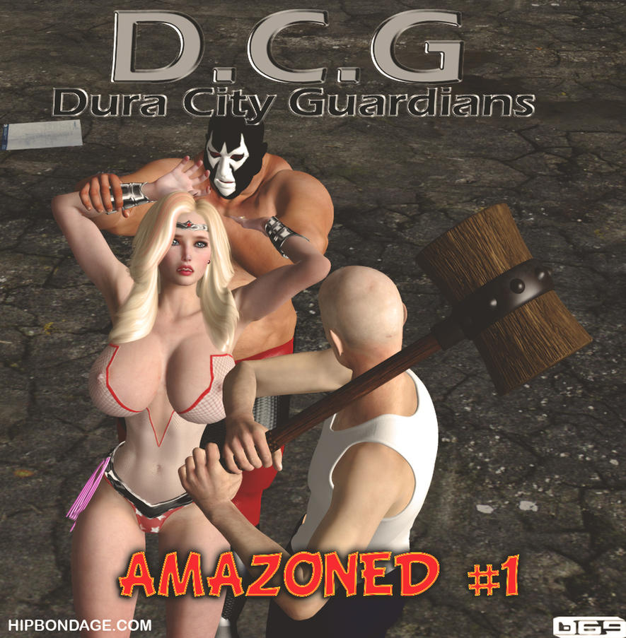 Cover of D.C.G: Amazoned #1 by B69comics