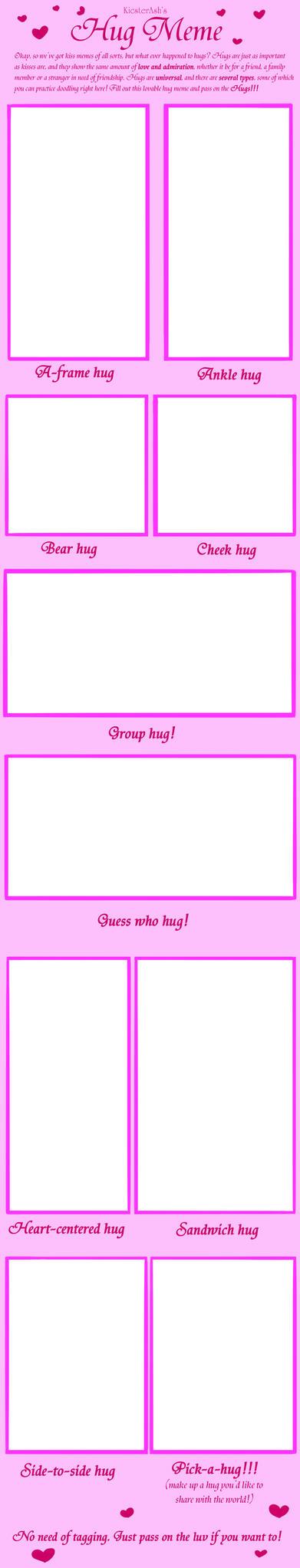 Hug Meme by KicsterAsh