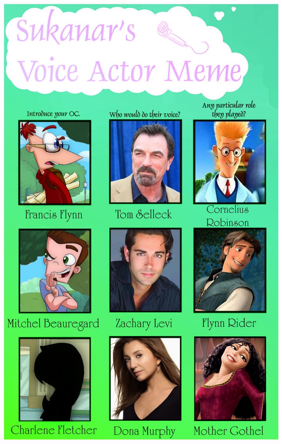Voice Acting Meme by KicsterAsh