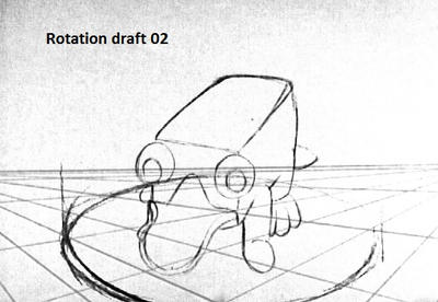 Rotation Draft 02 animation by KicsterAsh