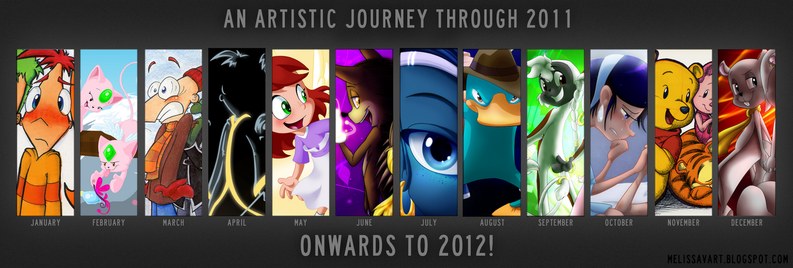 2011 in Art by KicsterAsh